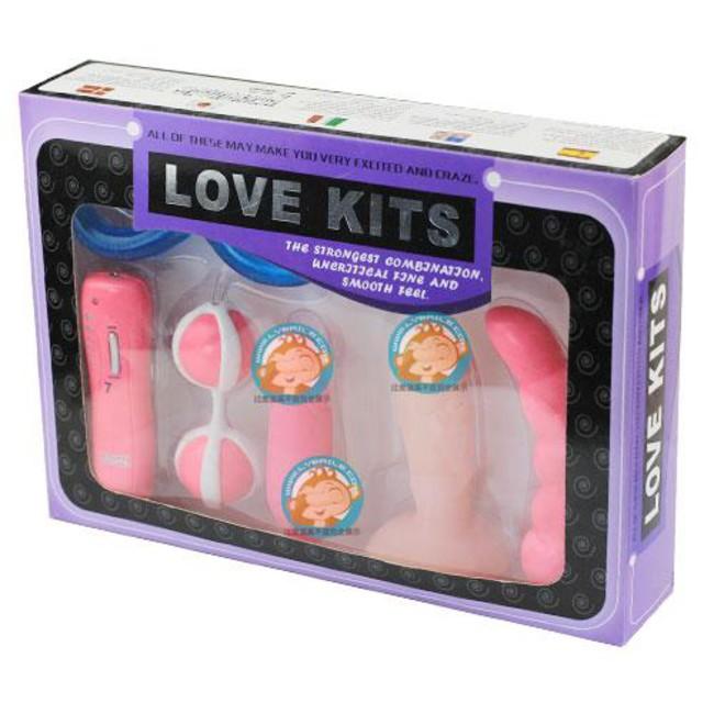 Набор для пар с вибростимуляцией Love Kits