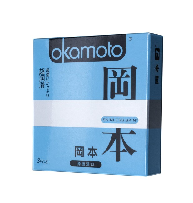 Презервативы OKAMOTO Skinless Skin Super Lubricative (3 шт)