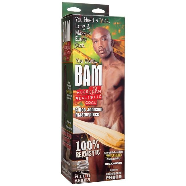 Гигантский фаллос Realistic® BAM